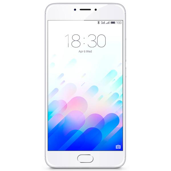 Смартфон Meizu M3 Note 16Gb+2Gb Silver/White (L681H) смартфон meizu u20 16gb silver white u685h
