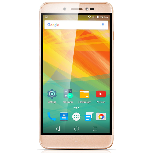 Смартфон Prestigio Grace Z5 Duo Gold (PSP5530) смартфон prestigio grace z5 серебристый 5 3