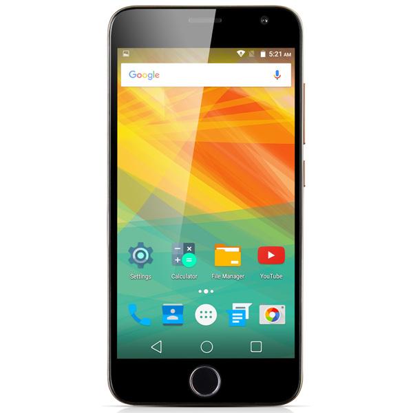 Смартфон Prestigio Grace R7 Duo Gold (PSP7501) смартфон prestigio grace q5 5506 duo blue
