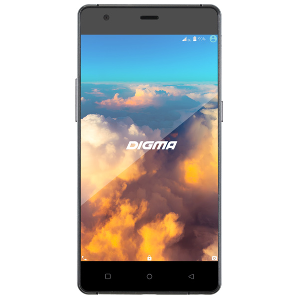 Смартфон Digma VOX S503 4G 16Gb Black пвх панели vox в минске