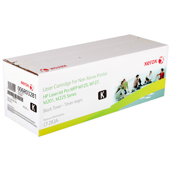 Картридж для лазерного принтера Xerox XPS for HP CE283A (006R03281) картридж для лазерного принтера hp 33a cf233a