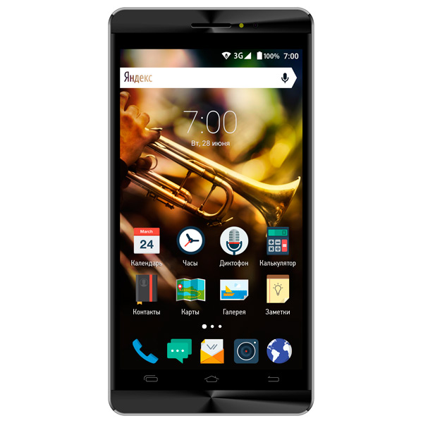 Смартфон Vertex Impress Jazz Black/Graphite vertex vertex impress lion 4g