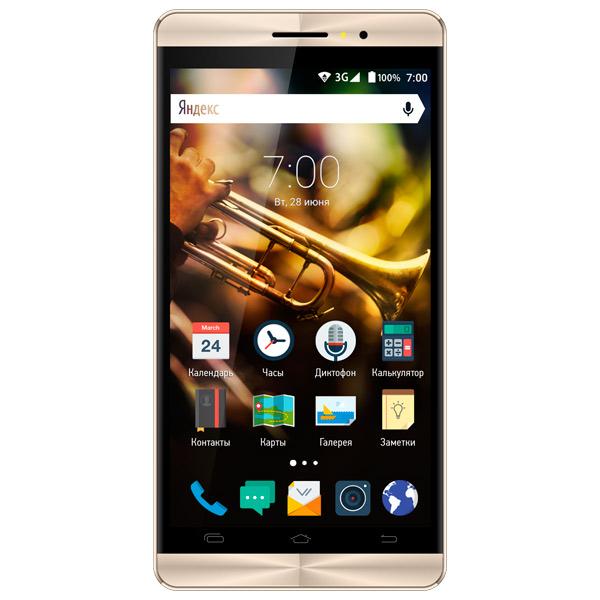 Смартфон Vertex Impress Jazz Black/Gold смартфон vertex impress groove gold