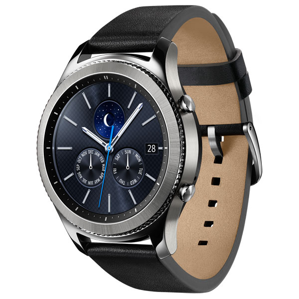 Смарт-часы Samsung Gear S3 classic (SM-R770NZSASER) stainless steel watch band for samsung galaxy gear s2 classic sm r732