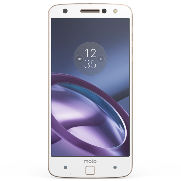 Смартфон Motorola Moto Z White/Gold (SM4389AD1U1) motorola moto z 4гб 64гб смартфон