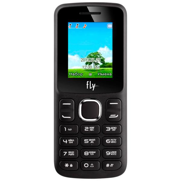 все цены на Мобильный телефон Fly FF179 Black онлайн