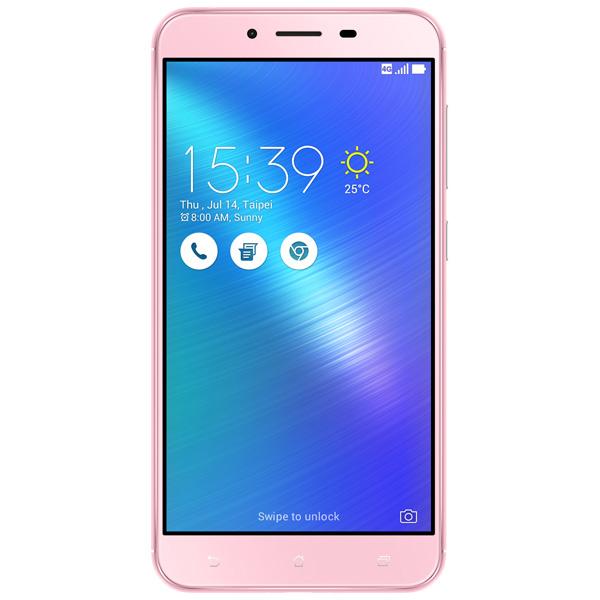Смартфон ASUS Zenfone 3 MAX ZC553KL 32GB Pink (4I026RU) смартфон asus zenfone 3 max zc553kl 32gb gold
