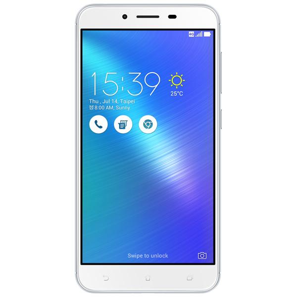 Смартфон ASUS Zenfone 3 MAX ZC553KL 32GB Silver (4J027RU) смартфон asus zenfone live zb501kl золотистый 5 32 гб lte wi fi gps 3g 90ak0072 m00140