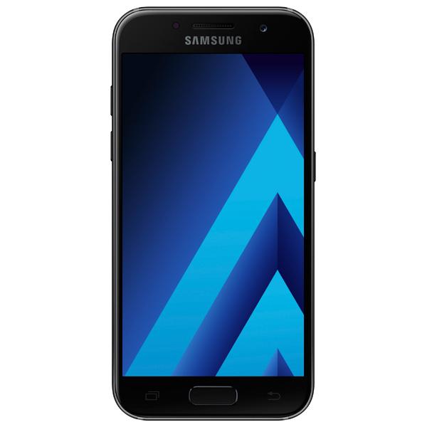 Смартфон Samsung Galaxy A3 (2017) Black (SM-A320F) samsung sm a300f galaxy a3 white браслет pandora