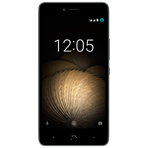 Смартфон BQ U Plus 4G 16Gb/2Gb Black/Grey (C000234) смартфон bqs 5050 strike selfie grey mediatek mt6580 1 3 8 gb 1 gb 5 1280x720 dualsim 3g bt android 6 0