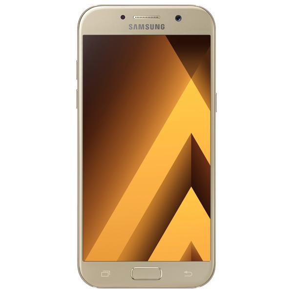 Смартфон Samsung Galaxy A5 (2017) Gold (SM-A520F) смартфон samsung galaxy j7 2016 sm j710fn gold