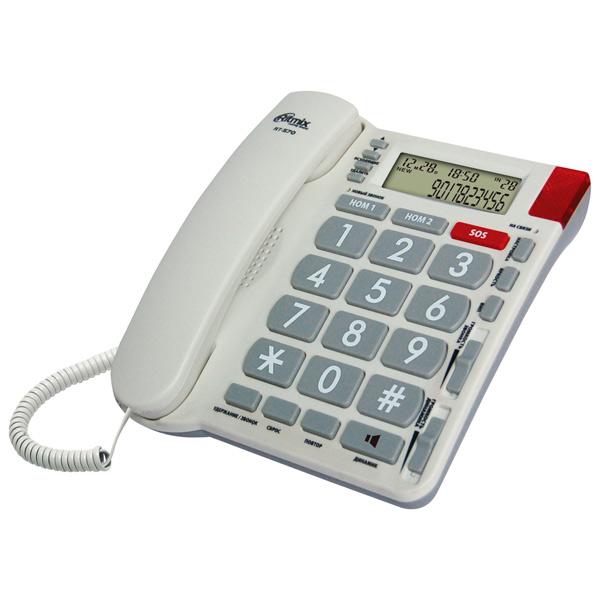 Фото Телефон проводной Ritmix RT-570 Ivory телефон ritmix rt 003 черный