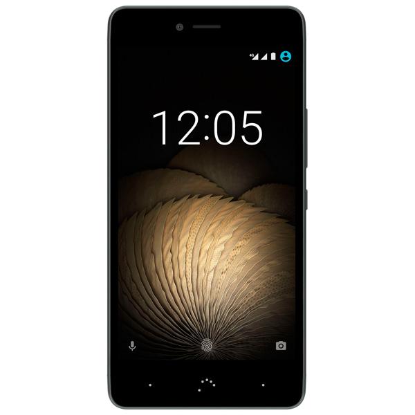 Смартфон BQ U Plus 4G 32Gb/3Gb Black/Grey (C000242) смартфон bqs 5050 strike selfie grey mediatek mt6580 1 3 8 gb 1 gb 5 1280x720 dualsim 3g bt android 6 0