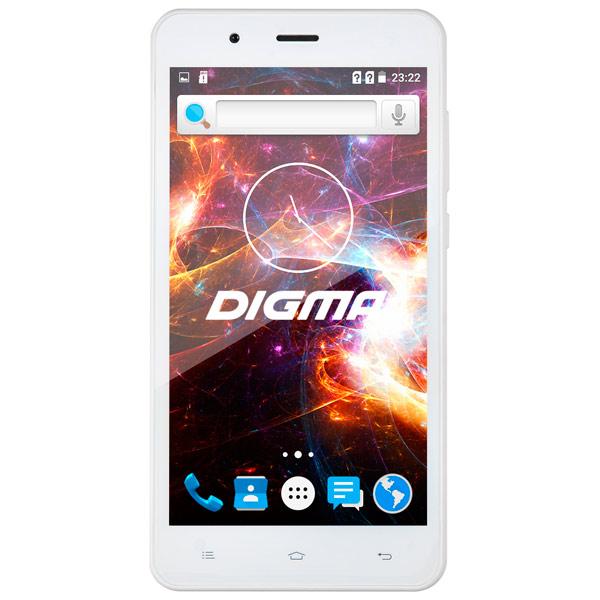 Смартфон Digma VOX S504 3G 8Gb White digma first xs350 2g