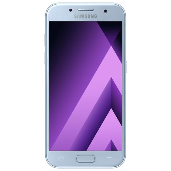 Смартфон Samsung Galaxy A3 (2017) Blue (SM-A320F) смартфон samsung galaxy a3 2017 blue sm a320f
