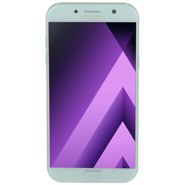 Смартфон Samsung Galaxy A7 (2017) Blue (SM-A720F) аккумулятор zip для samsung galaxy a7 2017 sm a720f