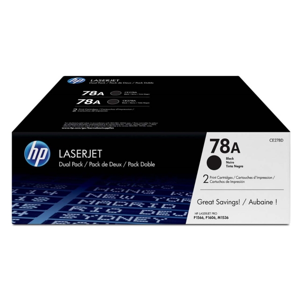 Картридж для лазерного принтера HP 78А Black (CE278AF) картридж для лазерного принтера hp 33a cf233a