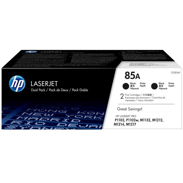 Картридж для лазерного принтера HP 85А Black (CE285AF) картридж для принтера hp 88xl c9396ae black