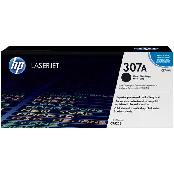 Картридж для лазерного принтера HP 307А Black (CE740A) картридж для лазерного принтера hp 33a cf233a