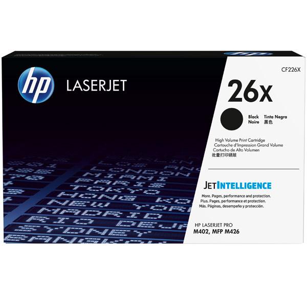 Картридж для лазерного принтера HP 26Х Black (CF226X) картридж для принтера и мфу hp cn053ae 932xl black