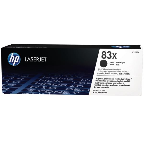 Картридж для лазерного принтера HP 83Х Black (CF283X) картридж для принтера и мфу hp cn053ae 932xl black