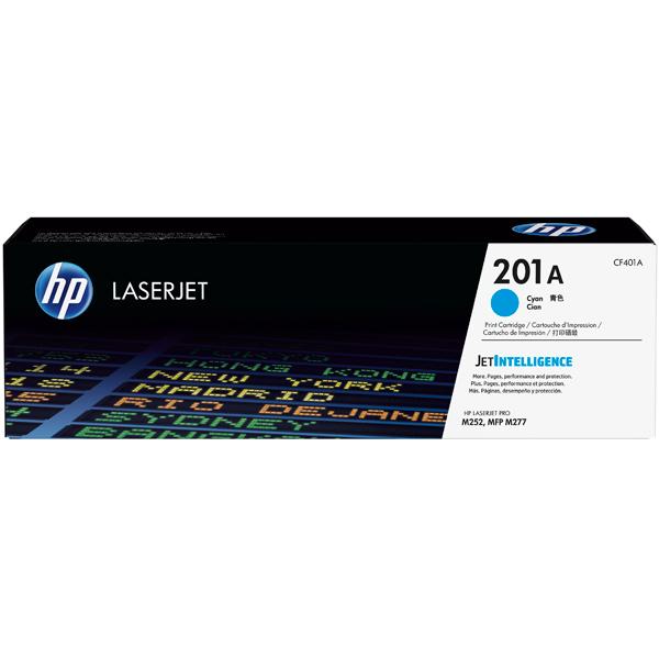 HP, Картридж для лазерного принтера, 201А Cyan (CF401A)
