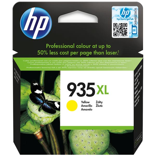 Картридж для струйного принтера HP 935XL Yellow (C2P26AE) картридж для принтера hp 646a cf032a yellow