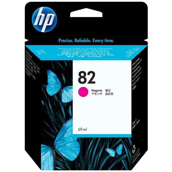 Картридж для струйного принтера HP 82 Magenta (C4912A) картридж для принтера hp c9399a 72 69 ml magenta ink cartridge