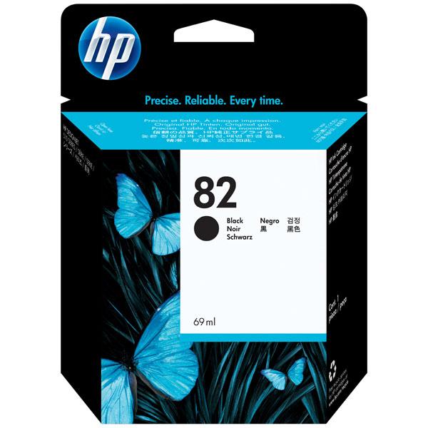 Картридж для струйного принтера HP 82 Black (CH565A) картридж для принтера hp c8767he 130 black inkjet print cartridge