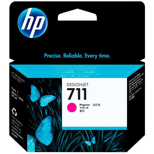 Картридж для струйного принтера HP Designjet 711 Magenta (CZ131A) картридж для принтера и мфу hp ce413a magenta