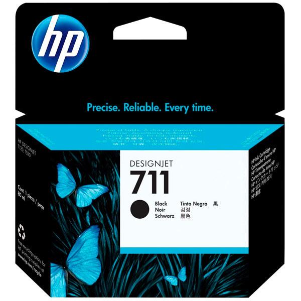Картридж для струйного принтера HP Designjet 711 Black (CZ133A) картридж для принтера hp 88xl c9396ae black