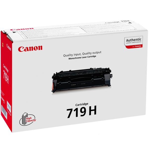 Картридж для лазерного принтера Canon 719 H Black картридж для лазерного принтера hp 33a cf233a