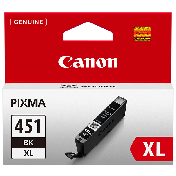 Картридж для струйного принтера Canon CLI-451XL Black картридж для принтера profiline pl cli 451 cyan