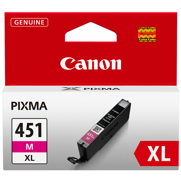 Картридж для струйного принтера Canon CLI-451XL Magenta картридж для струйного принтера canon cli 8bk
