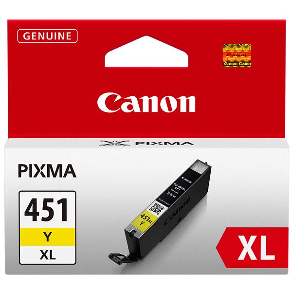 Картридж для струйного принтера Canon CLI-451XL Yellow картридж для принтера profiline pl cli 451 cyan
