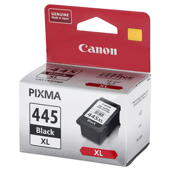 Картридж для струйного принтера Canon PG-445XL Black картридж для струйного принтера canon pg 445 emb