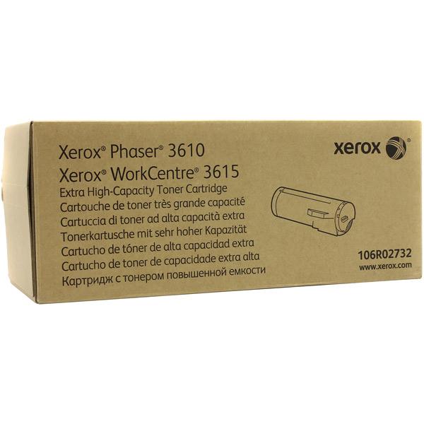 Картридж для лазерного принтера Xerox 106R02732 Black картридж colortek black для 14854 14855 14856 14857 14858 14860 14861