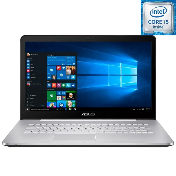 Ноутбук игровой ASUS N752VX-GC218T ноутбук asus k751sj ty020d 90nb07s1 m00320