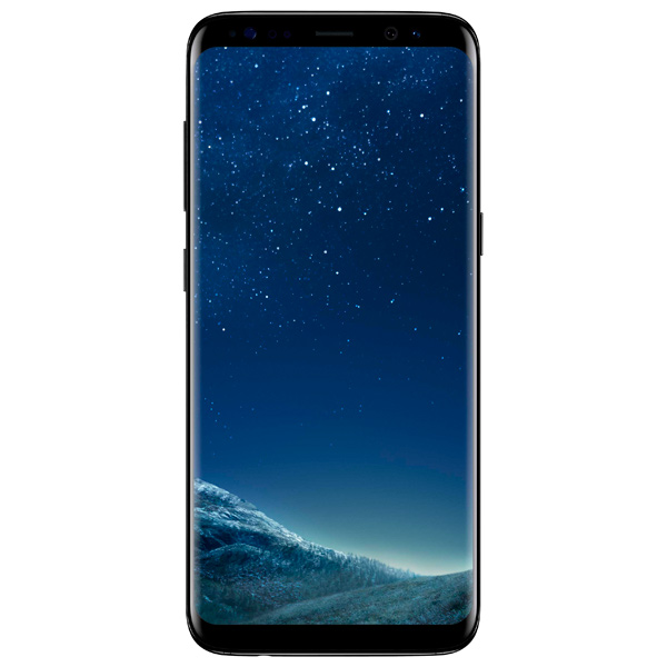 Смартфон Samsung Galaxy S8 64Gb Черный бриллиант оригинальный samsung galaxy s8 s8 plus nillkin 3d ap pro полноэкранный экранный протектор экрана