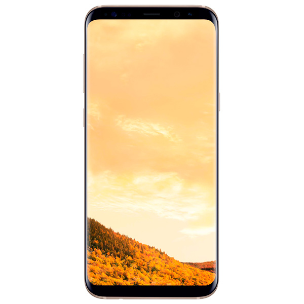 Смартфон Samsung Galaxy S8+ 64Gb Желтый топаз