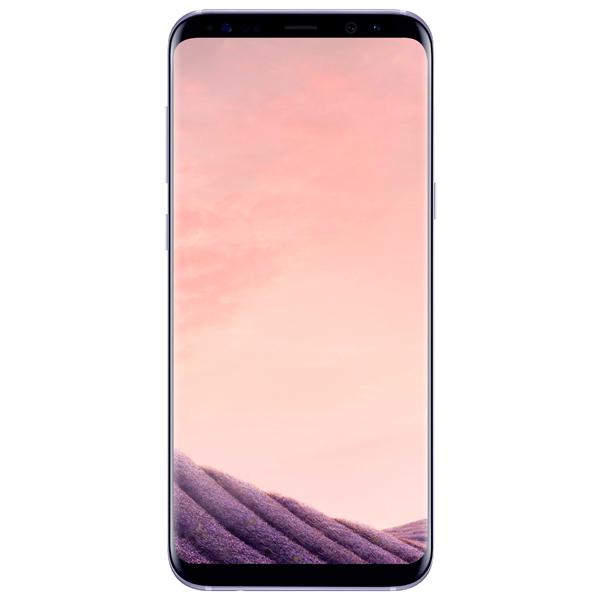 Смартфон Samsung Galaxy S8+ 64Gb Мистический аметист samsung pay zarabotal s ystroistvami storonnih proizvoditelei