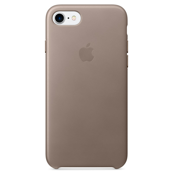 все цены на Чехол для iPhone Apple iPhone 7 Leather Case Taupe (MPT62ZM/A) онлайн