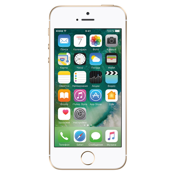 iPhone SE 128GB Gold (MP882RU/A)