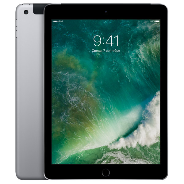 все цены на Планшет Apple iPad 32GB Wi-Fi + Cellular Space Grey (MP1J2RU/A)