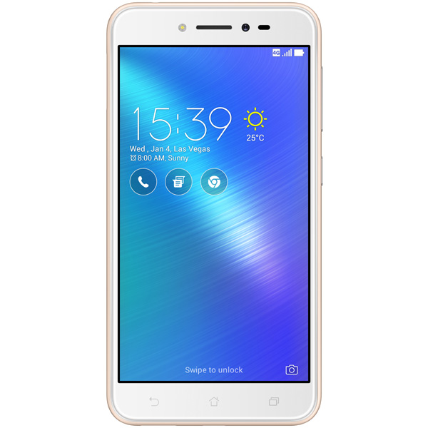 Смартфон ASUS ZenFone LiveZB501KL 32Gb Gold (4G005A) смартфон asus zenfone live zb501kl золотистый 5 32 гб lte wi fi gps 3g 90ak0072 m00140