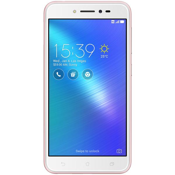 Смартфон ASUS ZenFone LiveZB501KL 32Gb Pink (4I005A) аксессуар защитная пленка asus zenfone live zb553kl luxcase суперпрозрачная 55823