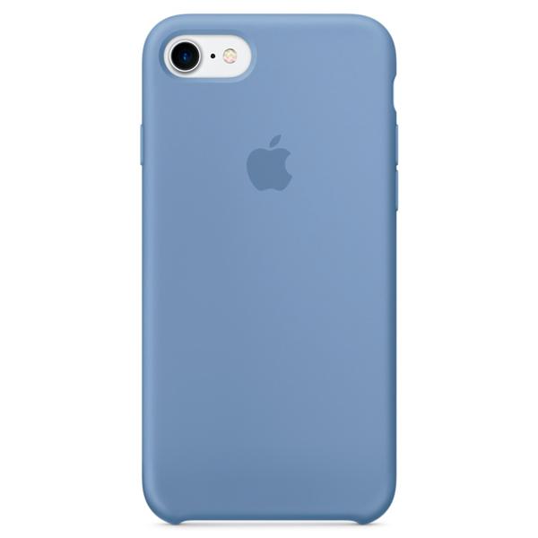 Чехол для iPhone Apple iPhone 7 Silicone Case Azure (MQ0J2ZM/A) кейс для iphone apple iphone 7 silicone case ocean blue mmww2zm a