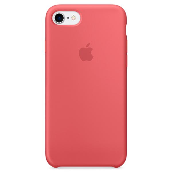 Кейс для iPhone Apple iPhone 7 Silicone Case Camellia (MQ0K2ZM/A) накладка apple silicone case для iphone 7 синий mmwk2zm a