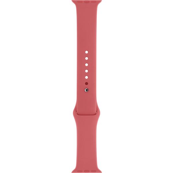 Ремешок Apple 42mm Camellia Sport Band S/M & M/L (MPUW2ZM/A) умные часы apple watch sport корпус 42 мм из серебристого алюминия белый спортивный ремешок