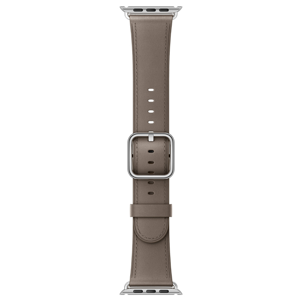 Ремешок Apple 38mm Taupe Classic Buckle (MPWG2ZM/A) умные часы apple watch series 3 38mm grey space with black sport band mqkv2ru a
